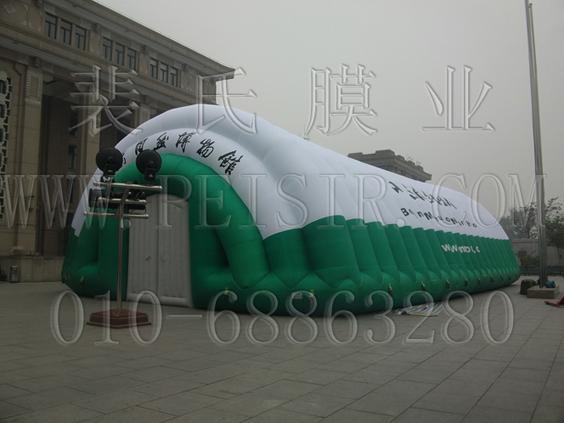 气肋式膜结构-北京自然博物馆