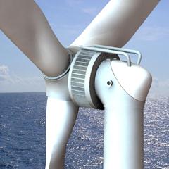 海上风力发电机 XE 128-5000 5000KW