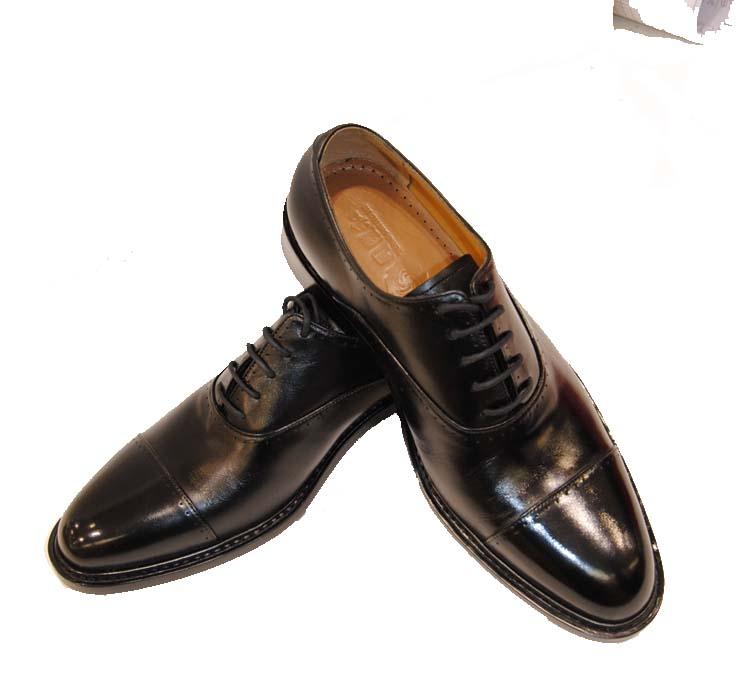 同升和 手工三头皮鞋