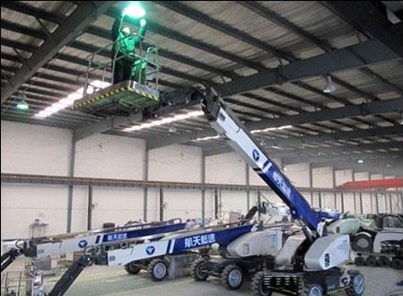 航天新长征防爆电动高空作业车正式进入市场