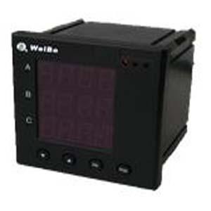 数显单相电压、电流、有功功率(UIP)组合表
