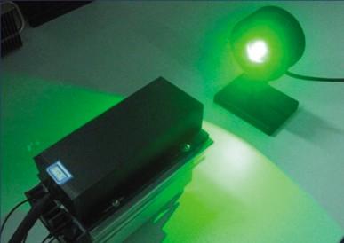 4W声光调Q绿光激光器