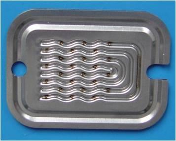 热交换器焊接样件