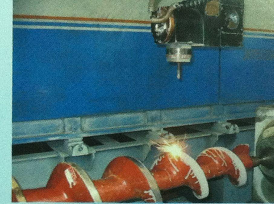 不锈钢螺杆激光合金化