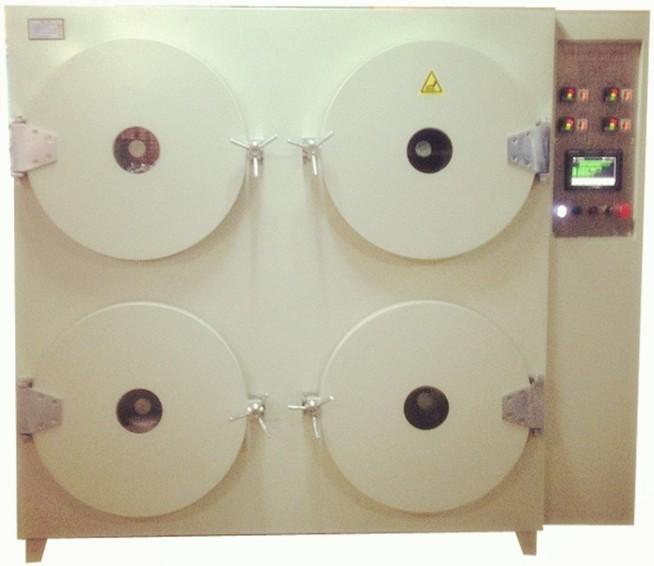 四门或六门圆筒智能真空烤箱