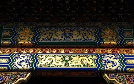 和玺彩画_古建筑彩绘工程