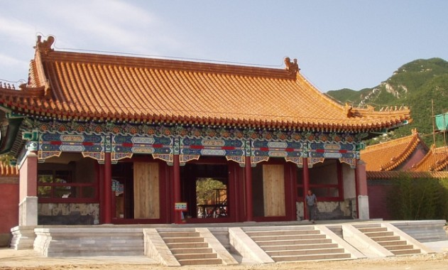 寺庙彩绘_古建筑装饰工程