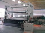 造纸机械-框架式下引纸复卷机