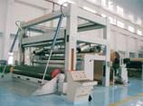 造纸机械-框架重叠型下引纸复卷机