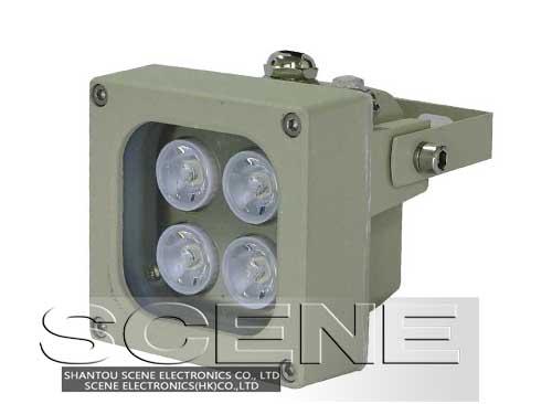 监控专用LED补光灯、白光灯、常亮补光