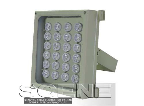 监控专用红外灯、补光灯、室外防水补光灯