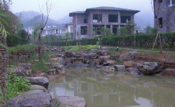 庭院鱼池,假山鱼池,私家花园鱼池