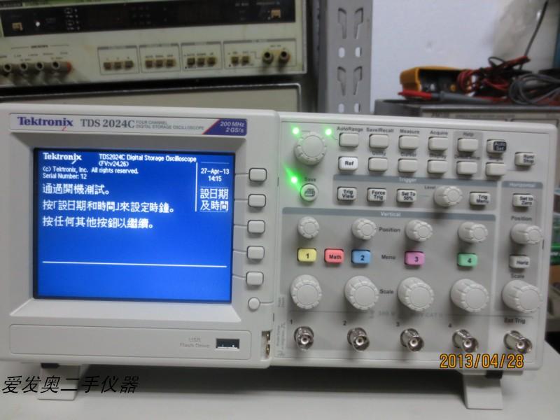二手仪器回收TDS2024C泰克带USB示波器