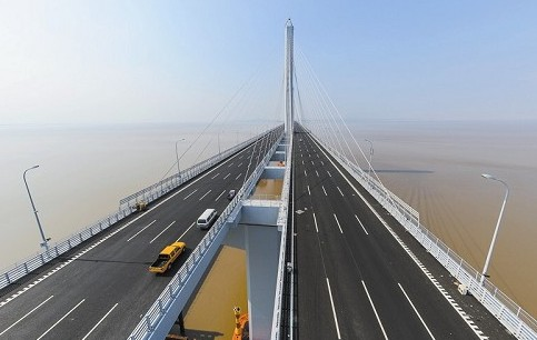 之后第二座跨杭州湾大桥——嘉绍跨海大桥及南北接线