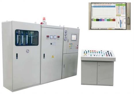 低压铸造伺服加压控制系统