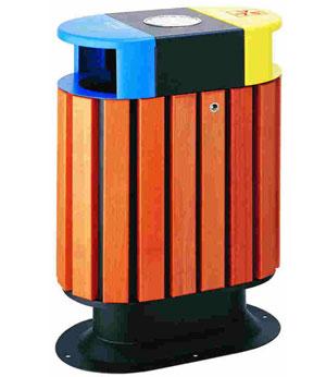 南充木制垃圾桶