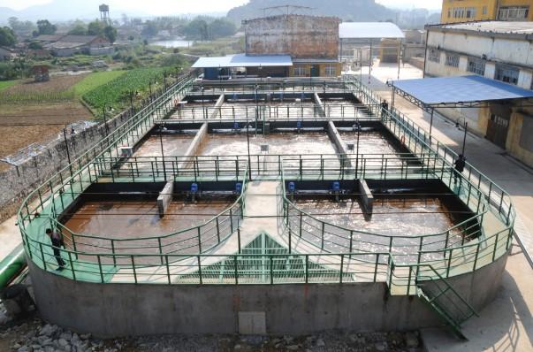 糖厂废水处理系统