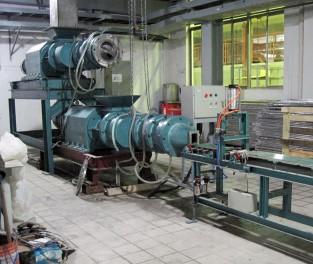 TCJ-250型预过滤挤出机