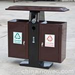 钢板分类废物箱