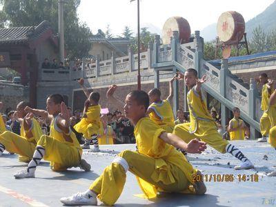 2011年国庆河南太行山之行(1)--嵩山少林寺