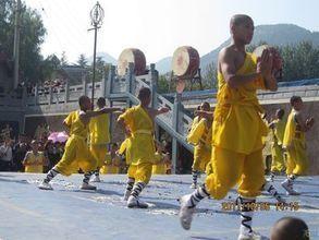 2011年国庆河南太行山之行(2)--嵩山少林寺