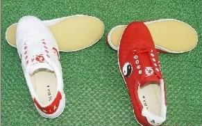 布面武术鞋