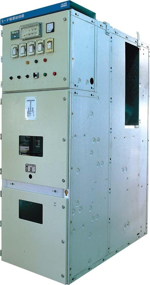 KYN28A-12户内交流金属封闭铠装移开式开关设备和控制设备