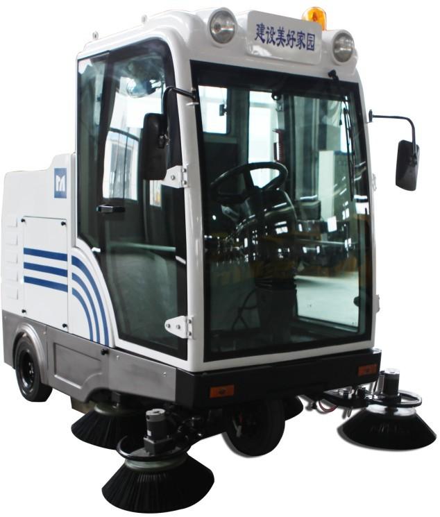 南通明诺机械有限公司新型全封闭自卸式扫地机MN-E800LD
