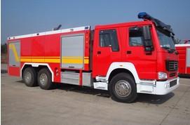 豪泺超细水雾消防车