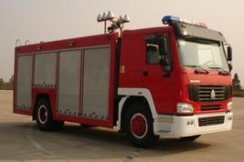 豪泺供气消防车(空气充装车)