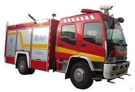 五十铃中型消防灭火机器人