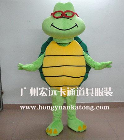 供应人偶广告道具服装龟人偶