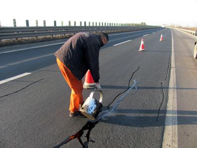 路面灌缝胶道路施工