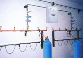 供应氧气汇流排