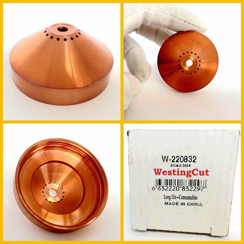 海宝等离子切割机配件耗材 原装 正品 进口铜 屏蔽罩