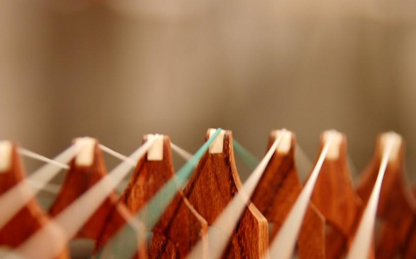 古筝弹奏散发出的声音唯美动听图片