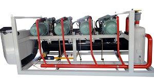凝新专利高温水冷螺杆并联机组/凝新水冷螺杆并联机组/水冷螺杆并联机组