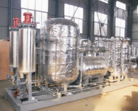燃气发电机预处理系统