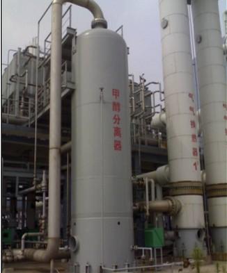 高效集成膜甲醇分离器/洗涤分离器