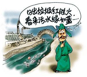 水污染的危害分析图片