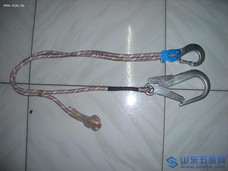 专业生产织带式缓冲安全绳