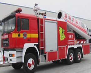 青年曼涡喷消防车
