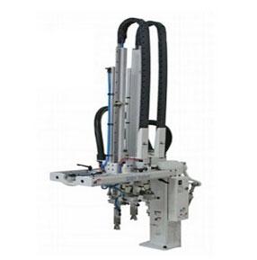 小型气动双臂注塑机机械手