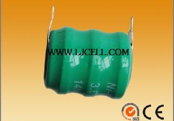 供应3.6V镍氢卧式插件 焊脚加工组合电池