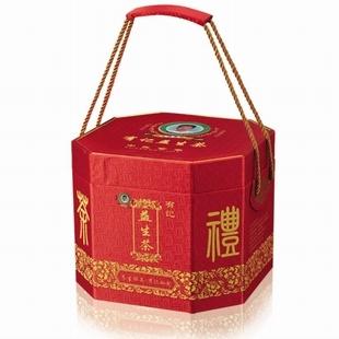 有记益生茶宫廷版小八角装(红色)