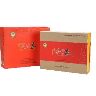 有记益生茶红色大礼盒
