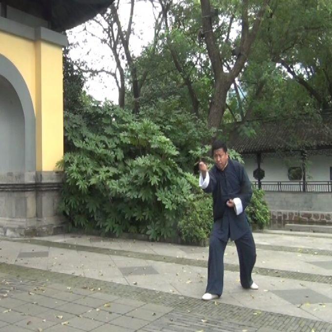 晚清河北形意拳宗师马玉堂第三代传承人―――刘国勤演练形意拳