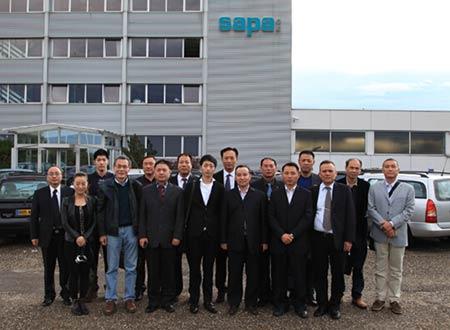 中国铝加工企业赴德国考察报道