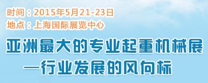 第八届中国国际起重机械及配件展览会上海举行