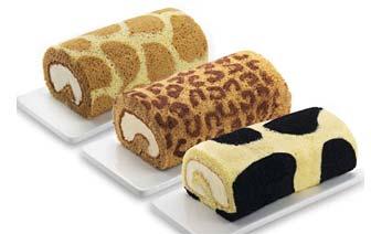 超治愈的日本动物奶油蛋糕卷